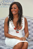 Mel B shows cleavage at Dancing With The Stars photocall at the 2008 Monte Carlo Television Festival