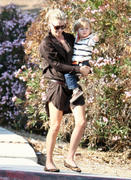 Ali Larter - at a park in Los Angeles 10/21/12