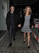 Келли Брук, фото 4551. Kelly Brook Leaving her Hotel - London - 22/02/12, foto 4551