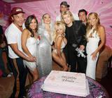 Pamela Anderson - Hans Klok Presents a Birthday Cake and a Present for her Birthday, June 30 2007