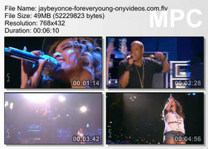 Beyonce ft Jay Z - Forever young - Coachella