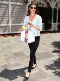 Bridget Moynahan in Santa Monica after dropping off baby, April 17